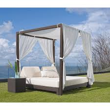 outdoor canopy bed skyline design anibal outdoor daybed with canopy outdoor bed with
