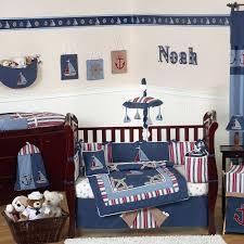 Nursery Boy Decor by Nautical Baby Room Crib Setnautical Wall Decal Boy Decor Themes