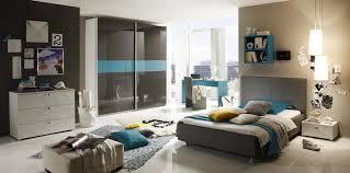 Schlafzimmer Mit Bett 140x200 Jugendzimmer Mit Bett 140 X 200 Cm Anthrazit Türkis Weiss