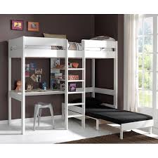 lits mezzanine avec bureau lit mezzanine avec fauteuil pino blanc