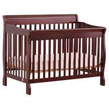 Convertible Crib Cherry Stork Craft Modena 4 In 1 Fixed Side Convertible Crib Cherry