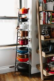 how to organize pots and pans in a cabinet 10 smart ways to organize pots and pans kitchn