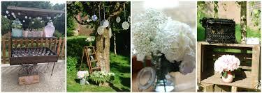 d co mariage vintage location de décoration de mariage vintage bohème chic