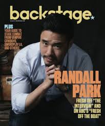 Randall Park Randall Park Finds The Funny In U0027fresh Off The Boat U0027 Backstage