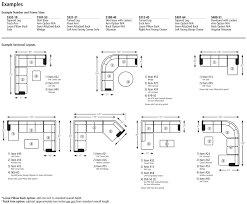 Sectional Sofas Dimensions Dimensions Of Sectional Sofa Centerfieldbar Standard Average