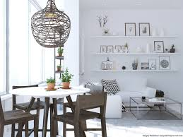 dining room wood and white scandinavian dining room features