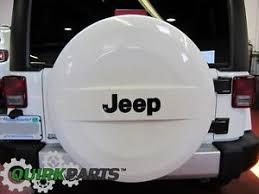 tire cover jeep wrangler 2007 2018 jeep wrangler p255 70r18 white surface spare tire