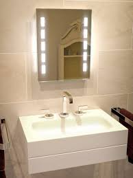 cube tall light bathroom mirror led illuminated bathroom