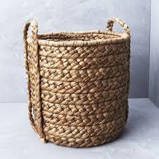 Laundry Hamper Australia by Large Waterhyacinth Basket W Plaited Handle