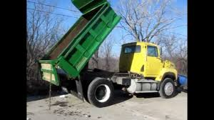 1995 ford la9000 aeromax dump truck for sale sold at auction