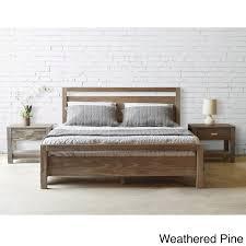 Platform Wood Bed Frame Wood Beds For Less Overstock