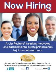 a list realtors llc careers