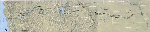 Map Of Nevada And Utah by Transcontinental Railroad Maps