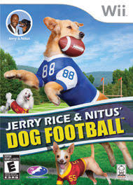 Wii Backyard Football by Jerry Rice U0026 Nitus U0027 Dog Football For Nintendo Wii Gamestop