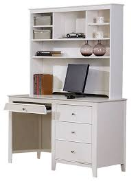 Pottery Barn White Desk With Hutch Fantastic White Desk With Drawers And Hutch Kendall Desk Hutch