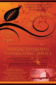 annual pacific palisades interfaith thanksgiving service