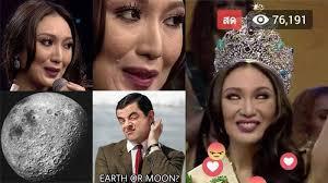 Bahan Meme - menang jadi miss earth 2017 karen ibasco wakil filipina jadi bahan