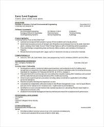 Sample Resume For Environmental Services by Download Pollution Control Engineer Sample Resume