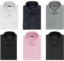 van heusen 100 cotton slim fit dress shirts for men ebay