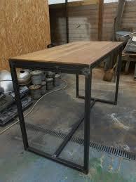 fabriquer une table haute de cuisine beeindruckend fabriquer table haute les 25 meilleures id es de la
