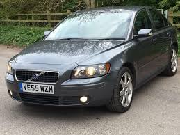 volvo s40 1 8 petrol manual full black leather parking