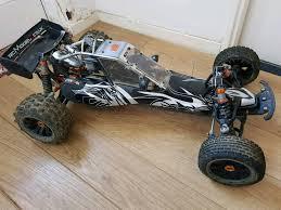 baja buggy rc car km baja upgraded hostile hitech tr 1 5 scale petrol rc car