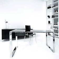 l shaped desk glass office design glass desk for office glass top desk officeworks