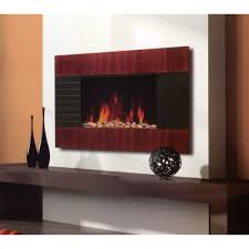 Fire Sense Electric Fireplace - fire sense 30 in wall mount electric fireplace in black 60757 and