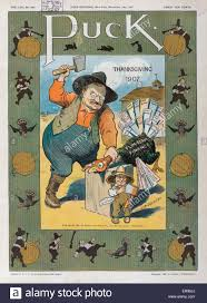 puck thanksgiving 1907 illustration shows theodore roosevelt about