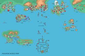 Hoenn Map Pokémon World Maps Page 39 Bulbagarden Forums