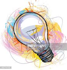 electric bulb vector art getty images