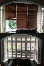 best 20 shutters for bay windows ideas on pinterest bay windows blinds curtains plantation shutters which look do you prefer for this large box