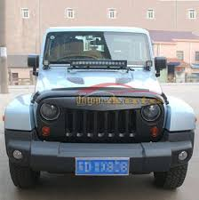 jeep wrangler front grill replacement abs innovative matte black angry front grille grill for