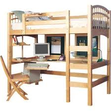 Bunk Bed Computer Desk Bunk Beds Loft Beds With Desks Wayfair