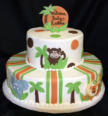 jungle theme baby shower cakes ideas horsh beirut