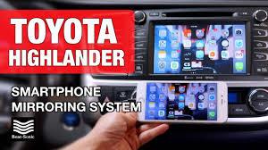 lexus ct200h vs toyota venza 2014 2017 toyota highlander smartphone mirroring system