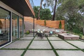 Patio Concrete Tiles Photo Page Hgtv