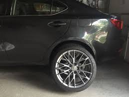 lexus isf suspension can toronto 18x8 isf replica wheels w tires and tpms sensors
