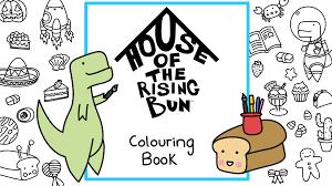 house of the rising bun colouring book by lisa hignett u2014 kickstarter