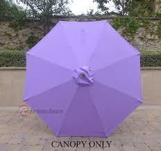 8 Foot Patio Umbrella by 9ft 8 Ribs Replacement Umbrella Canopy Patio Umbrella
