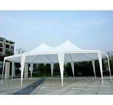 gazebo heavy duty outsunny large decagon 10 wall gazebo tent