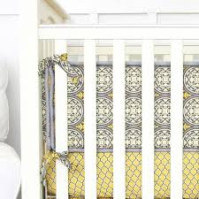 Gray And Yellow Crib Bedding Vintage Gray Yellow Crib Bedding Set By Caden Lane