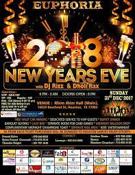new years houston tx euphoria 2018 new year party bmoreevents