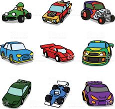 cartoon sports car cartoon racing cars stock vector art 161347830 istock