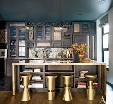 Images Of Kitchens With Black Cabinets These 20 Black Kitchens Make A Stylish Impact Photos