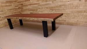 table de cuisine sur mesure table cuisine bois lepetitsiam