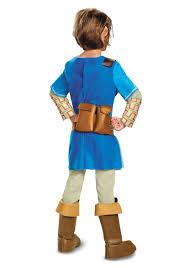 Zelda Costumes Halloween Legend Zelda Breath Wild Link Deluxe Costume Boys