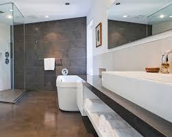 Modern Bathroom Floor Bathroom Contemporary Bathroom With Heated Floors Modern Ideas