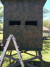deer blind windows ideas hunting with the home decor and furniture