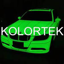 night glow pigments glow in the dark car paint photoluminescent